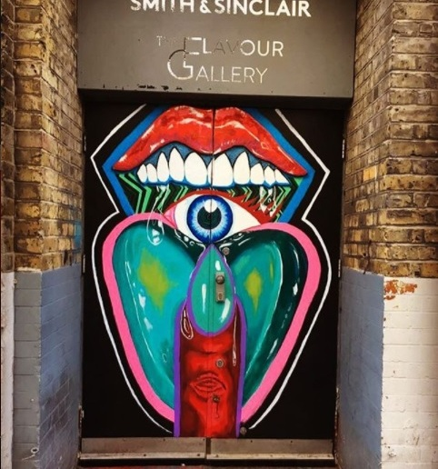 SMITH & SINCLAIR PRESENTS; THE FLAVOUR GALLERY, HOXTON BASEMENT DOORS, 2017
